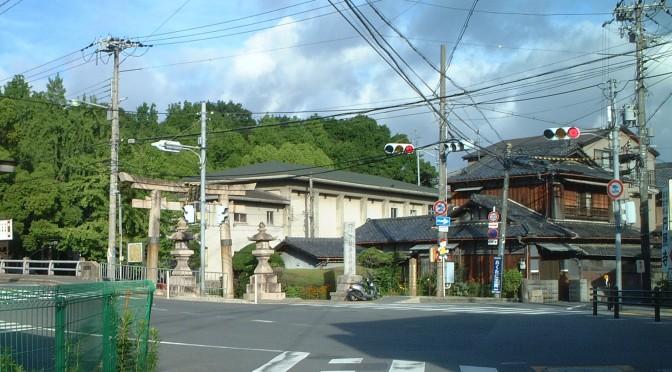 伊射奈岐神社の鳥居