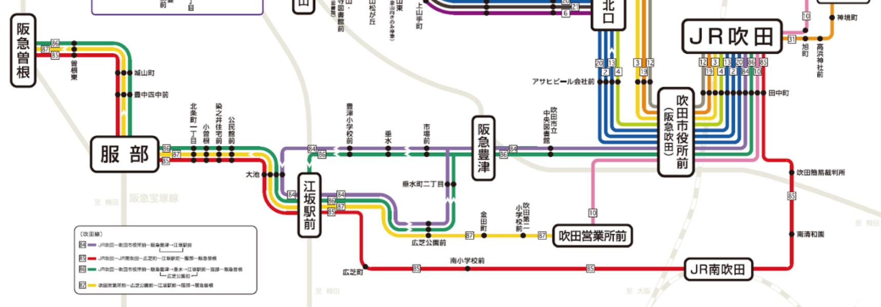 表 時刻 阪急 バス